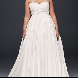 Sweetheart Davids Bridal Wedding Dress